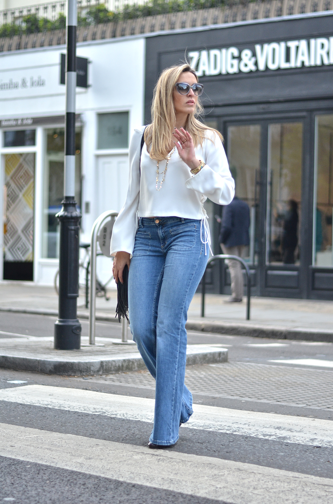 White Shirt And Jeans Female | Is Shirt