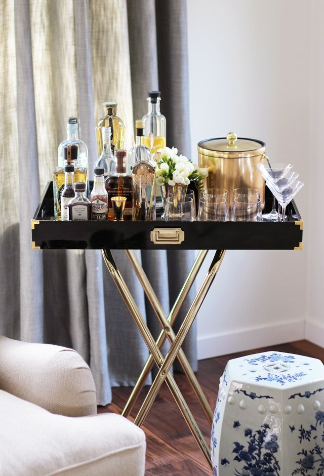 Home Mini Bar, Mini Bar, DIY Minibar,